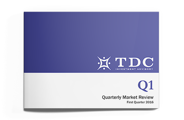 TDC's Quarterly Market Review for Q1 2016 Now Available