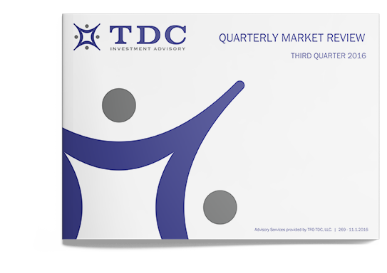 TDC's Quarterly Market Review for Q3 2016 Now Available