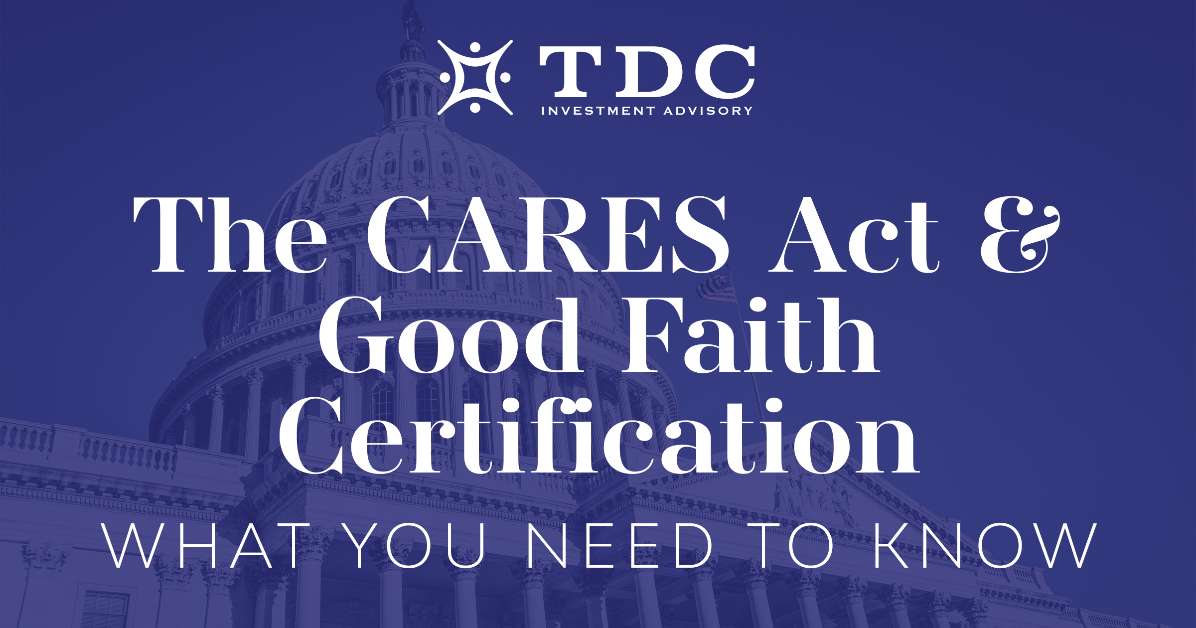 The CARES Act: What Individuals and Families Should Know